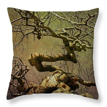 Wicked Tree Throw Pillow