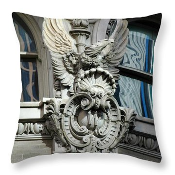 Throw Pillow featuring the photograph Wicked Window by Christiane Hellner-OBrien