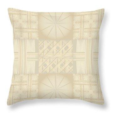 Wicker Quilt Throw Pillow