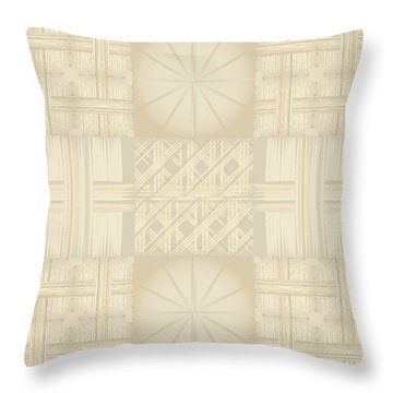 Wicker Quilt Throw Pillow by Kevin McLaughlin