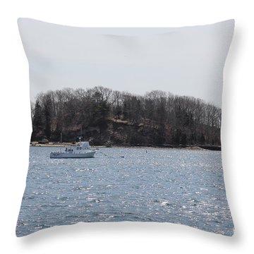 Wicket Island - Onset Massachusetts Throw Pillow