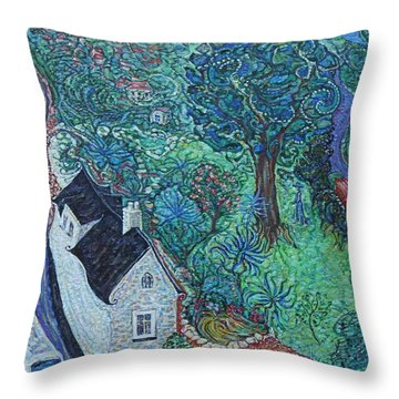 Wicklow Town - A Glimpse Of Ireland Throw Pillow