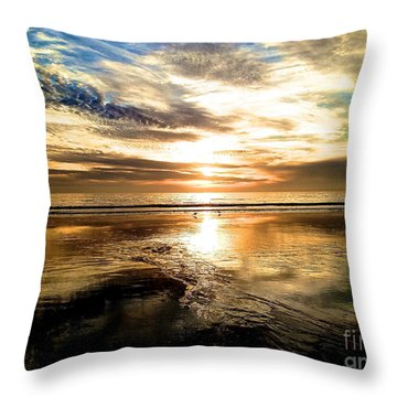 Wide Open Throw Pillow by Margie Amberge