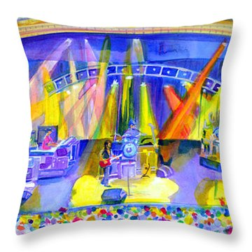 Widespread Panic Peabody Opera House Throw Pillow