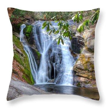 Widows Creek Falls Throw Pillow