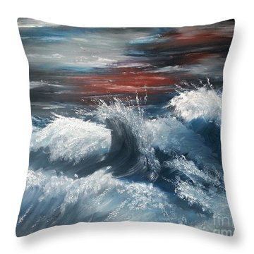 Wiederbelebung - A Time Of Change Throw Pillow