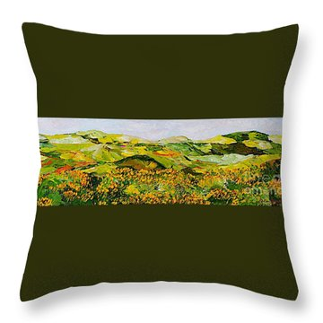 Wild And Robust Throw Pillow by Allan P Friedlander