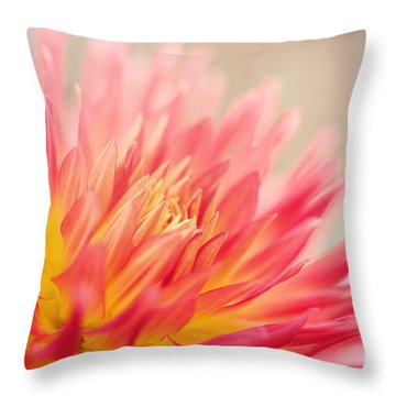 Wild At Heart Throw Pillow by Beve Brown-Clark Photography