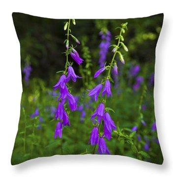 Wild Bells Throw Pillow