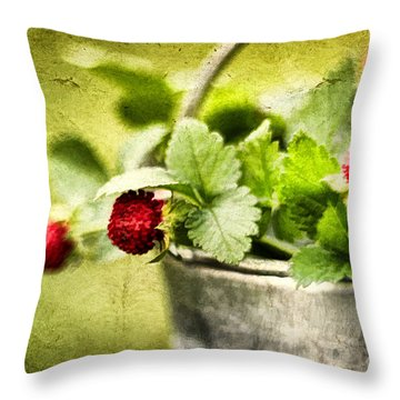 Wild Berries Throw Pillow by Darren Fisher