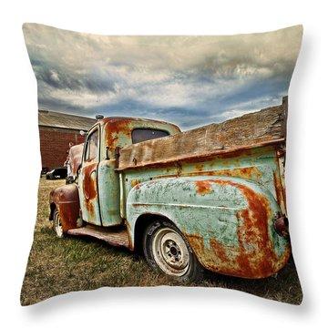 Wild Country Throw Pillow