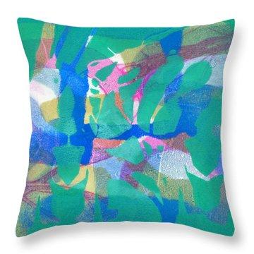 Wild Dance Throw Pillow