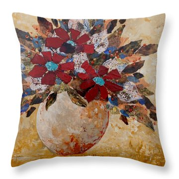 Wild Foowers 1 Throw Pillow