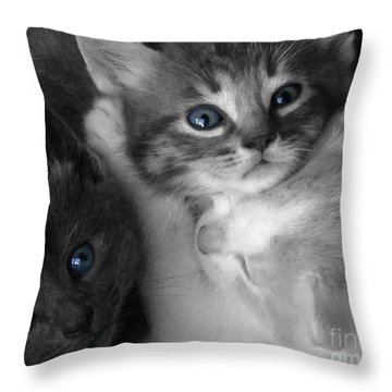 Wild Hearts Throw Pillow