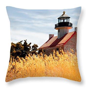 Wild Lighthouse Throw Pillow