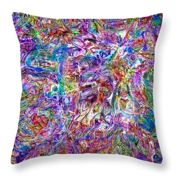 Wild Throw Pillow by Matt Lindley