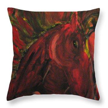 Wild N' Free Throw Pillow