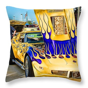 Throw Pillow featuring the photograph Wild One by Dyle   Warren