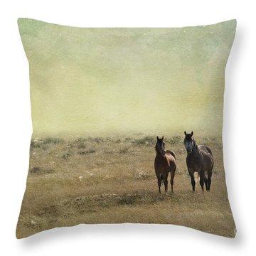 Wild Pair Throw Pillow by Juli Scalzi