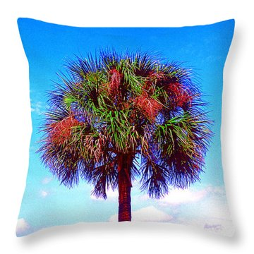 Wild Palm 1 Throw Pillow