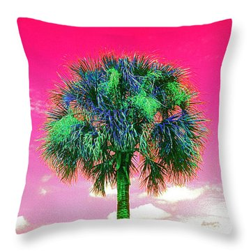 Wild Palm 2 Throw Pillow