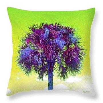 Wild Palm 3 Throw Pillow