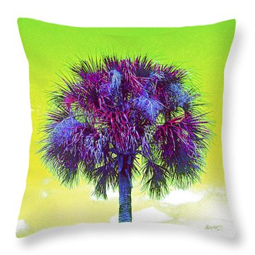 Wild Palm 3 Throw Pillow
