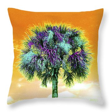 Wild Palm 5 Throw Pillow
