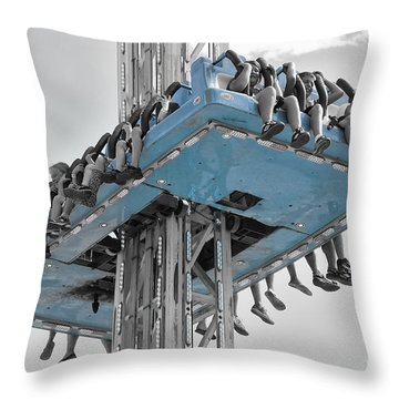 Wild Ride 2013 V.2 Throw Pillow by Joseph Duba