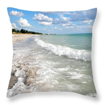 Throw Pillow featuring the photograph Wild Ride by Margie Amberge
