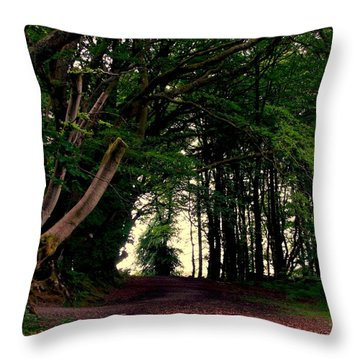 Wild Side Throw Pillow
