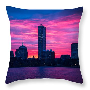 Wild Sunrise Throw Pillow