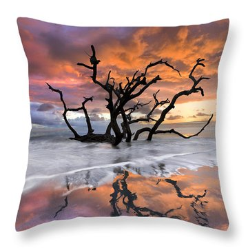 Wildfire Throw Pillow