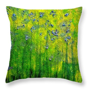 Wildflower Impression By Jrr Throw Pillow by First Star Art