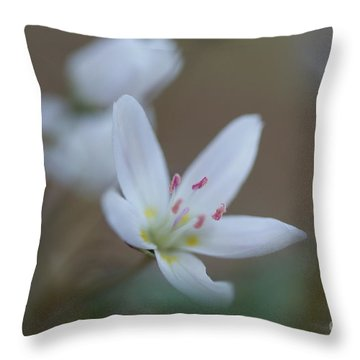 Wildflower Throw Pillow