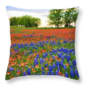 Wildflower Tapestry Throw Pillow