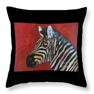 Wildlife1 Throw Pillow