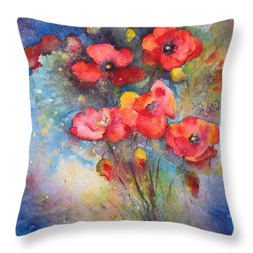 Wildtime Throw Pillow