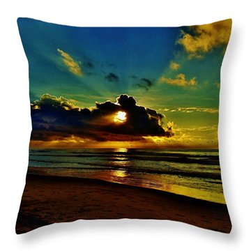 Wildwood Sunrise Throw Pillow
