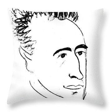 Wilhelm Reich (1897-1957) Throw Pillow