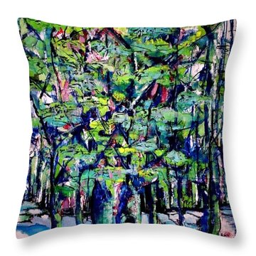 Will His Playground Exsist? Throw Pillow