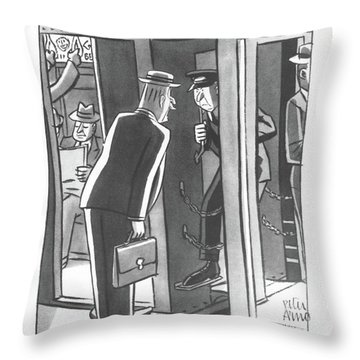 1943 Throw Pillows