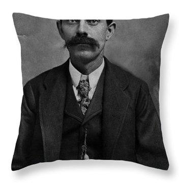 Throw Pillow featuring the photograph William Calvin Palmer by Karon Melillo DeVega