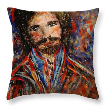 William Throw Pillow by Natalie Holland