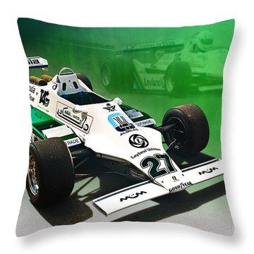 Williams Fw07 04 Throw Pillow