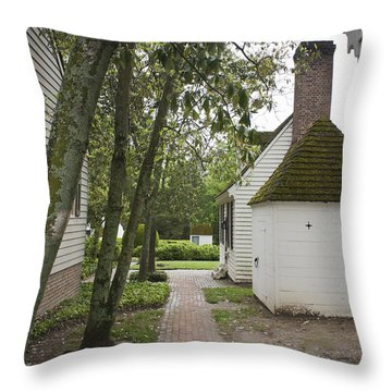 Williamsburg Alley Throw Pillow