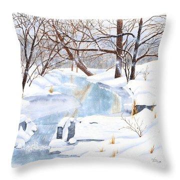 Willowood Winter Throw Pillow