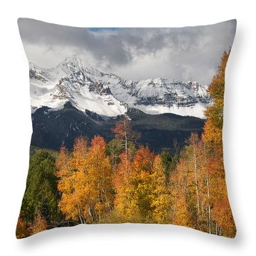 Wilson Peak Throw Pillow
