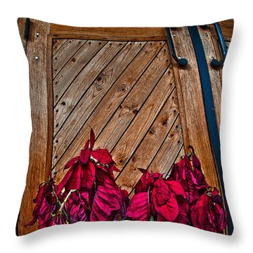 Wilted Throw Pillow by Murray Bloom