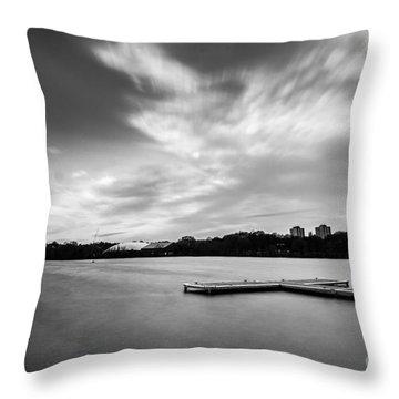 Wimbledon Park Throw Pillow by Matt Malloy